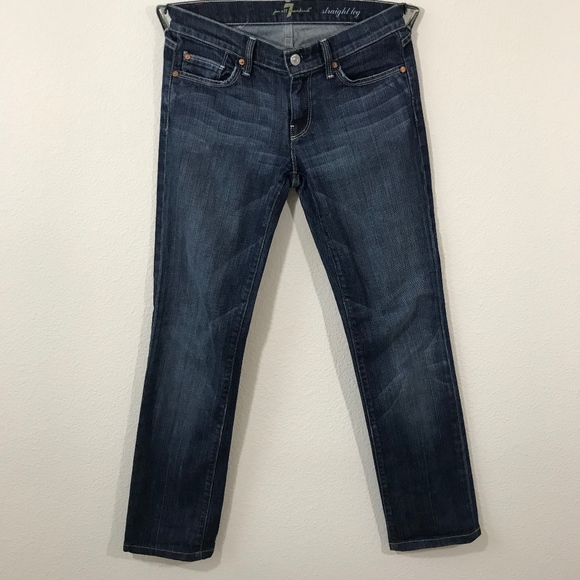 7 For All Mankind Denim - 7 For All Mankind Straight Leg Jeans Size 26